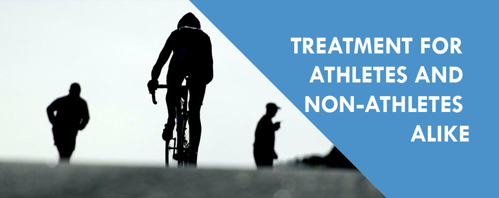 Treatment For Athletes and Non-Athletes Alike