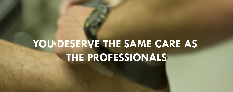 YOU Deserve The Same Care As The Professionals